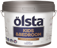 Olsta Kids&Bedroom / Ольста Кидс Бедроом краска водно дисперсионная для детских и спален