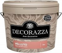 Decorazza Velluto/Декоразза Веллуто декоративное покрытие с эффектом бархата