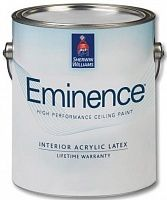Sherwin Williams Eminence Low Voc interior latex / Шервин Вильямс Эминенс Пейнт Интериор краска для потолков
