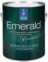 Sherwin Williams Emerald Interior Acrylic Latex Paint / Шервин Вильямс Эмеральд антивандальная матовая краска