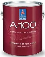 Sherwin Williams A-100 Exterior Acrylic Latex / Шервин Вильямс А-100 фасадная краска для дерева и минеральных оснований