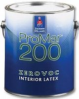 Sherwin Williams Promar 200 Interior Latex Flat / Шервин Вильямс Промар 200 Интериор Латекс Флэт краска для стен и потолков