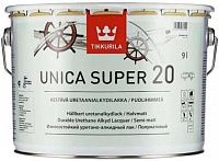 Tikkurila Unica Super 20/ Тиккурила Уника Супер яхтный лак полуматовый